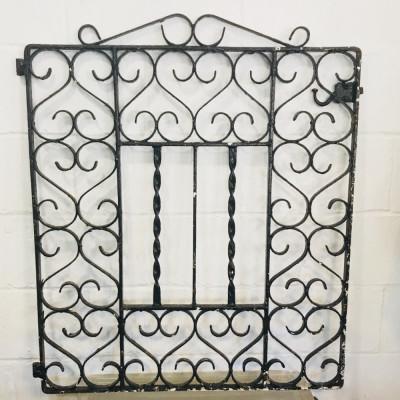 Ornate Cast Iron Gate