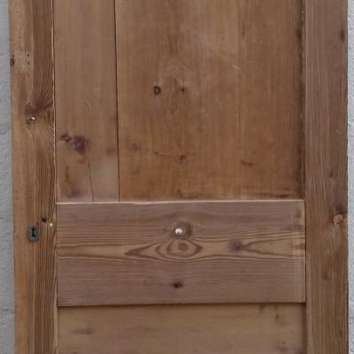 Georgian 2 paneled pine door.