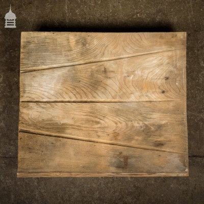 Small Reclaimed Elm Drainer Draining Board
