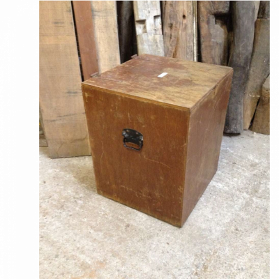 Box Old Vintage Wooden Reclaimed Original Electrical Earthing Device Storage Box 034 Salvage