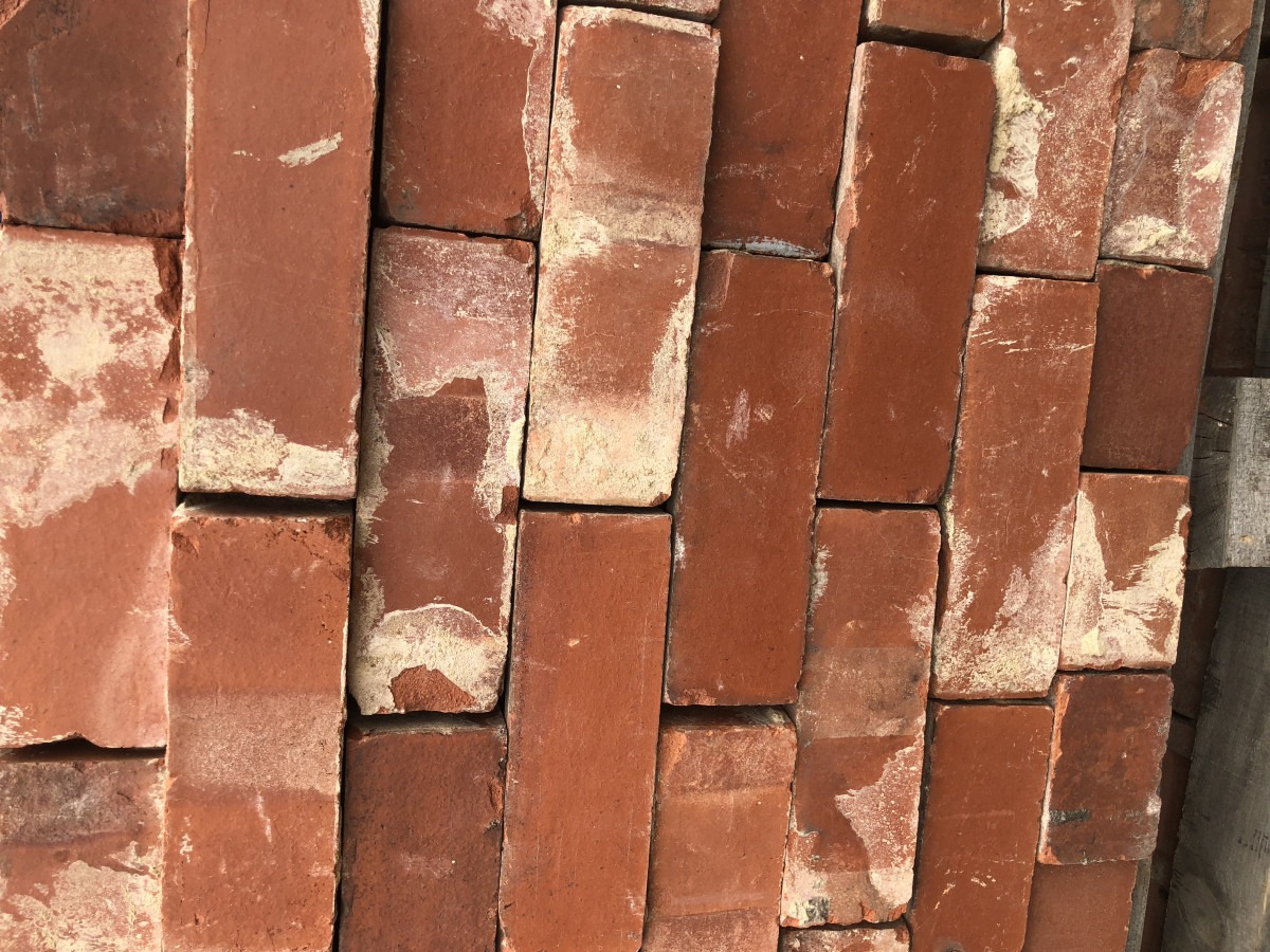 Reclaimed bricks