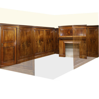 Antique Panelled Room in Walnut