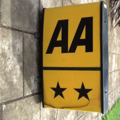 AA  ** Illuminated Sign