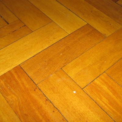 Reclaimed Solid Wood Parquet Flooring, Iroko
