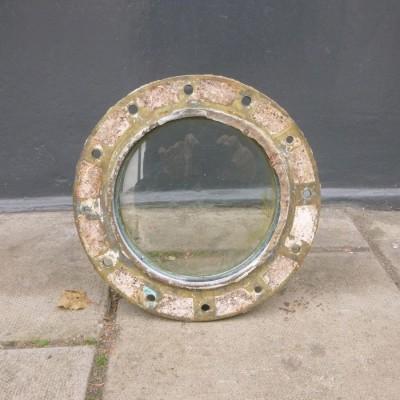 Antique Brass Naval Porthole