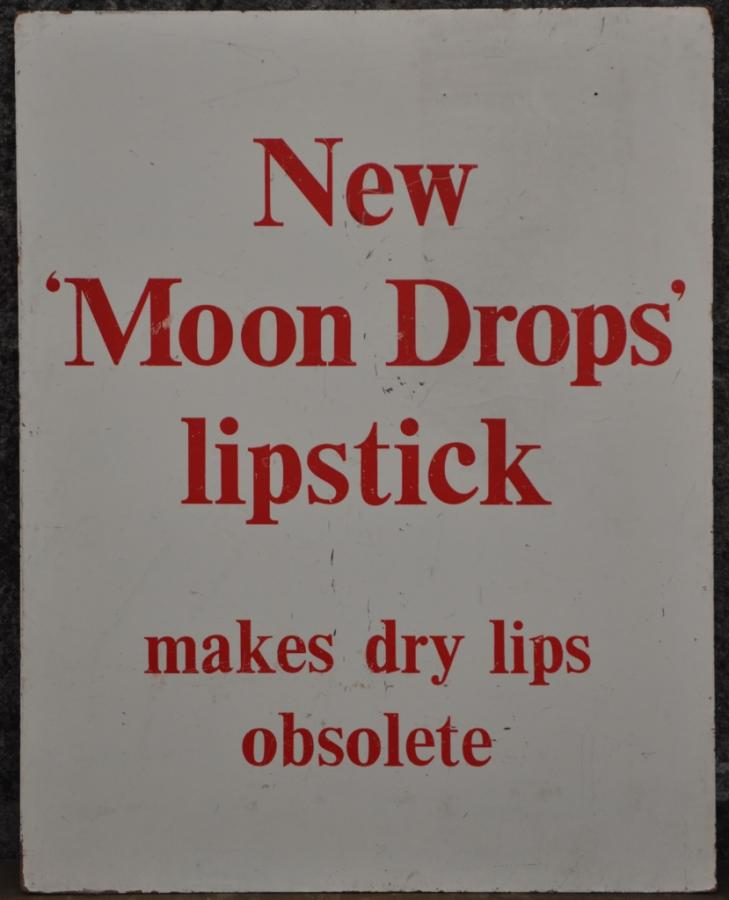 vintage moon drops lipstick advert