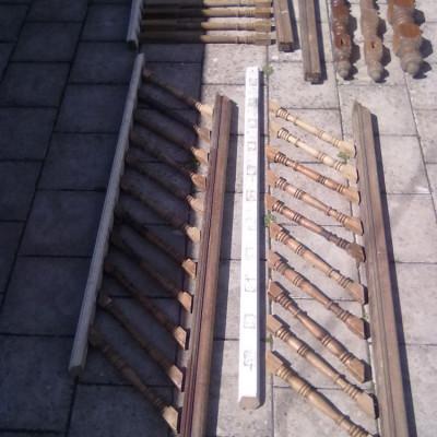 Antique Timber Balustrade