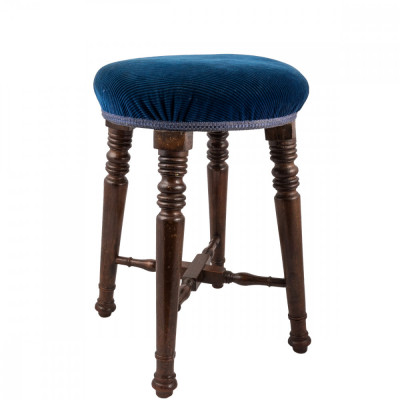 Antique Victorian Pub Stool