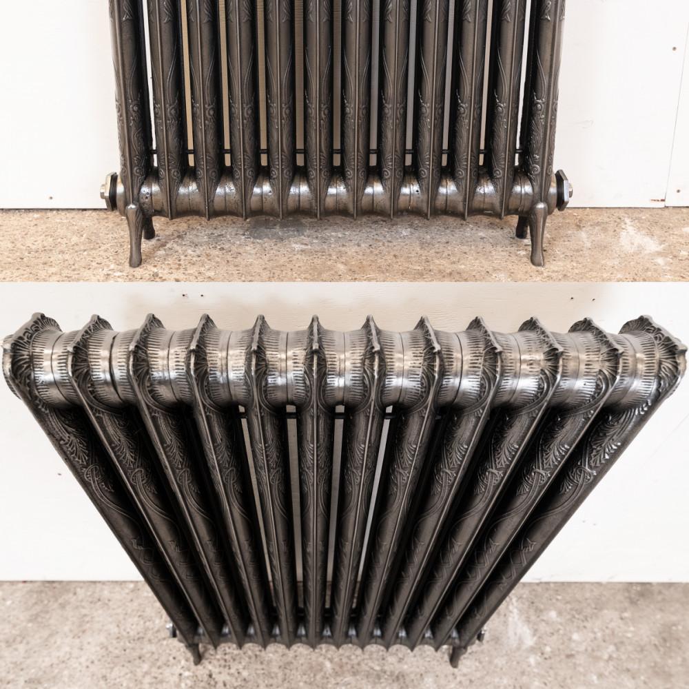 Original Decorative Cast Iron Two Column Radiator