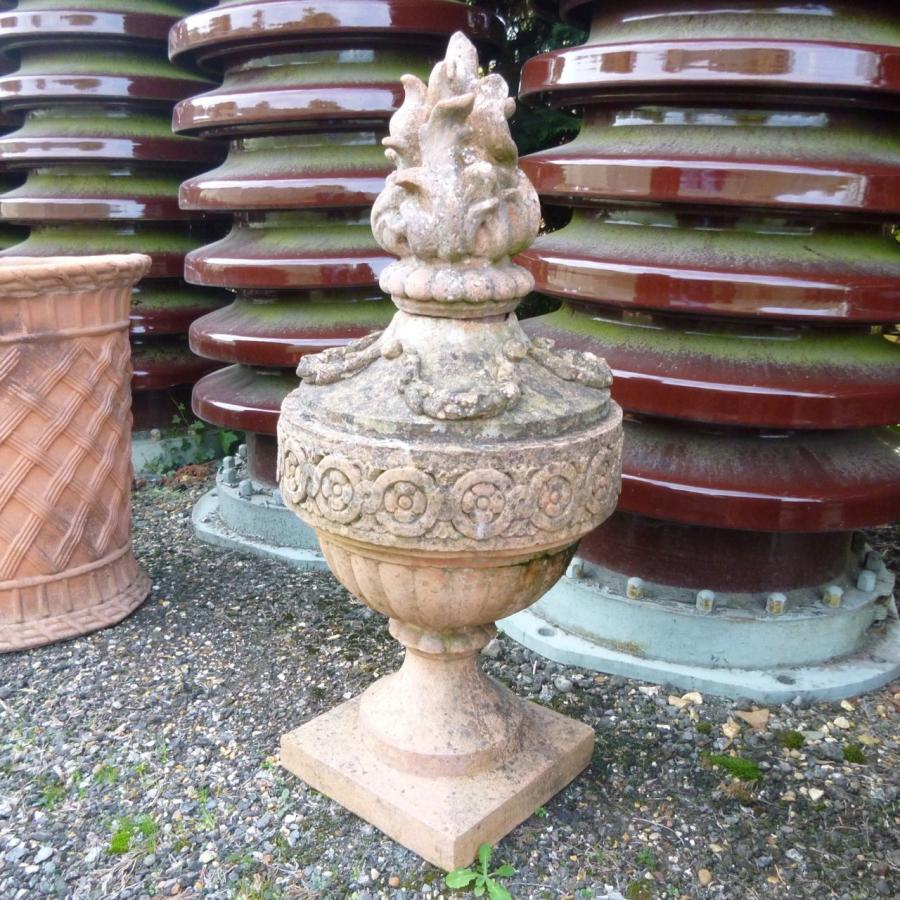Reclaimed Reconstituted Terracotta Finial