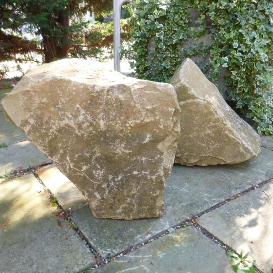 Reclaimed Sandstone Boulders - Large Quantity
