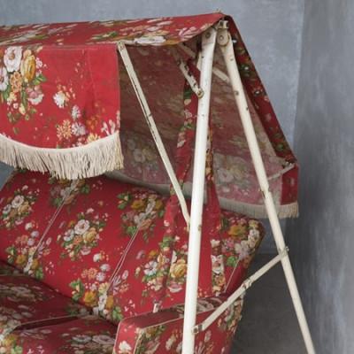 Original Vintage Garden 3 Seater Swinging Seat