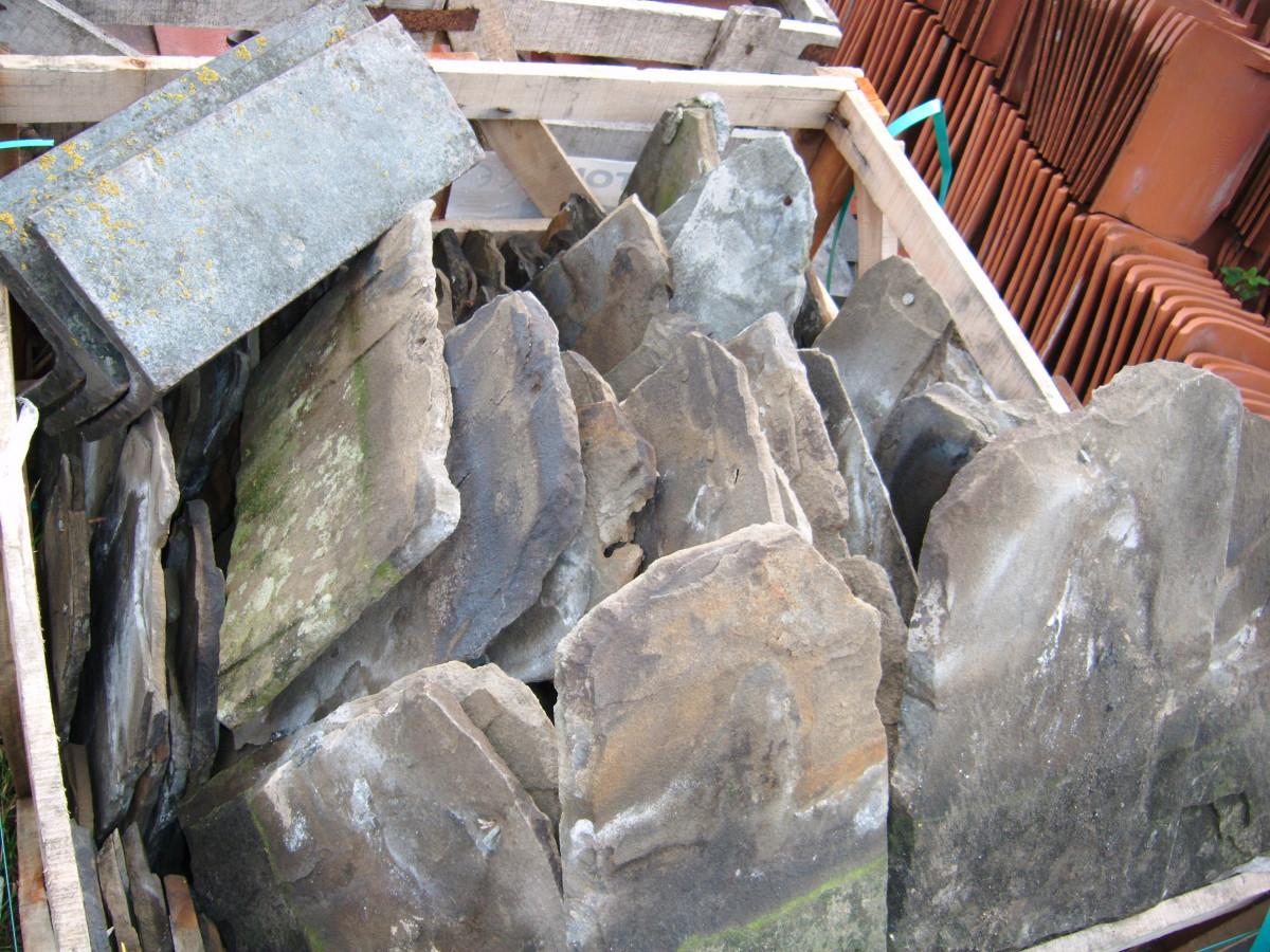 Stone roof tiles reclaimed stone tiles