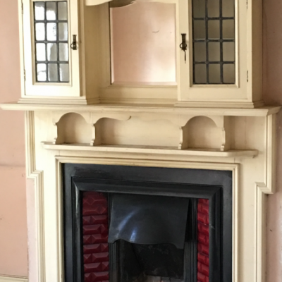 Fireplace and surround