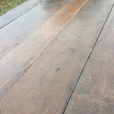 25m2 Reclaimed Vintage Very Old Oak Floorboards in excellent condition