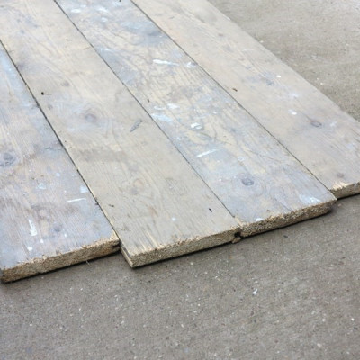Reclaimed Old Pine Antique Tongue & Groove Floorboards