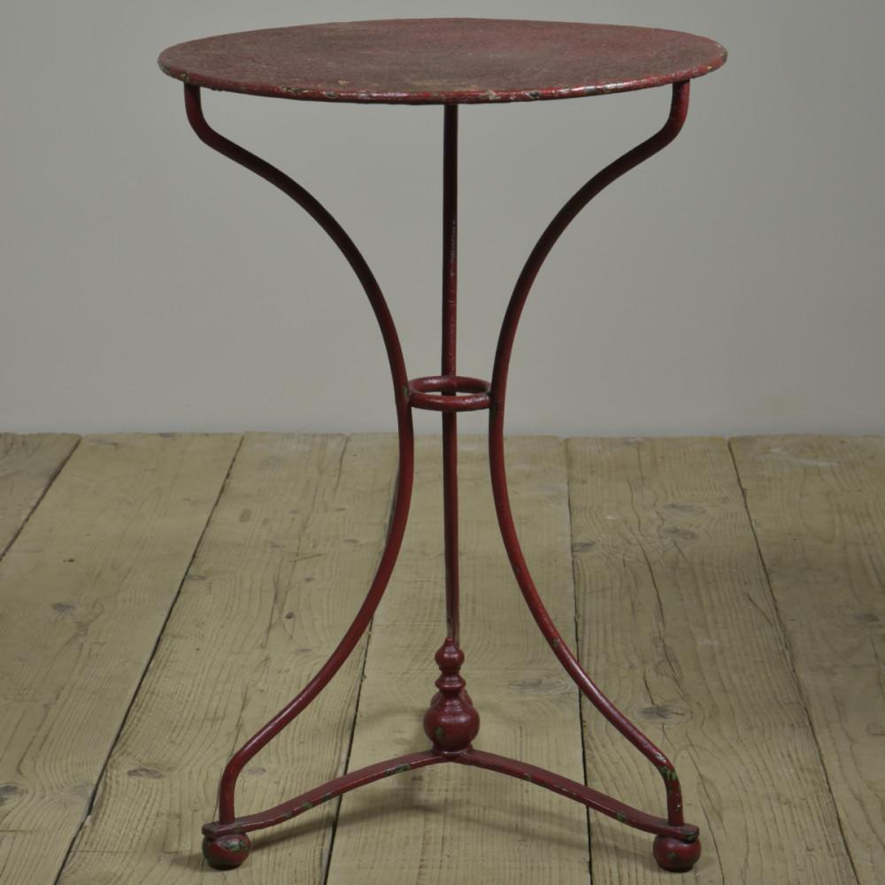 Antique Waisted Iron Garden Table