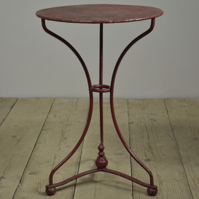 Antique Waisted Iron Garden Table