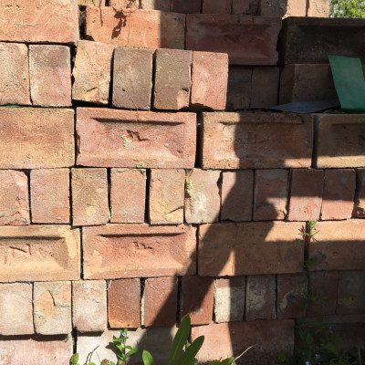 Reclaimed IMPERIAL WH Collier bricks approx 2,000 available. 65p each