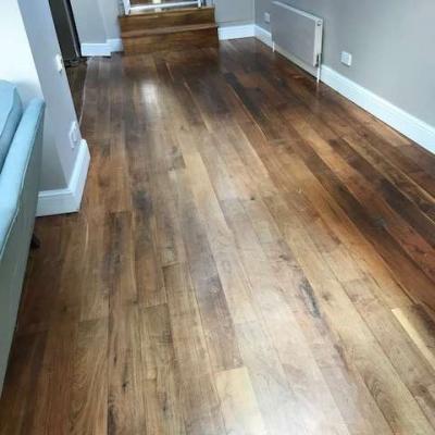 Solid Walnut flooring - approx 20sqm