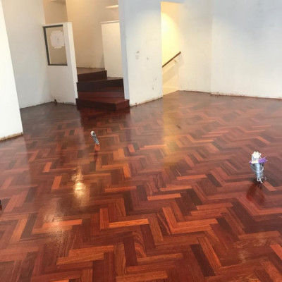 Reclaimed Jarrah Parquet flooring