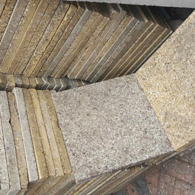 Paving slabs for garden