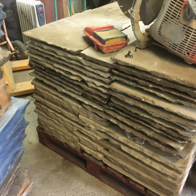 To Clear - 100 sq yds York Stone Flags