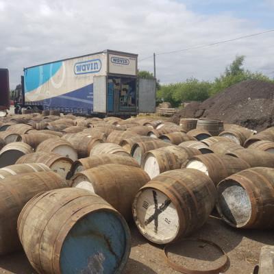Oak whisky barrels 1000's in stock