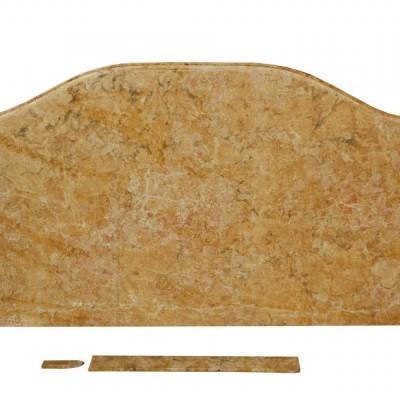 A Breche de Benou Jaune marble table top