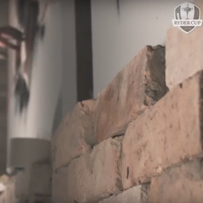 Bricks from London Reclaimed Brick Merchants feature in Ryder Cup promotional video