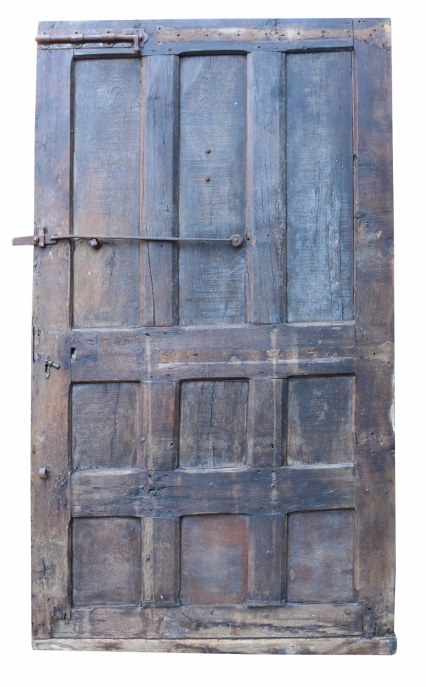 18th Century French Oak Exterior Door