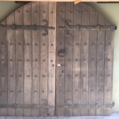 Antique Oak Church Doors