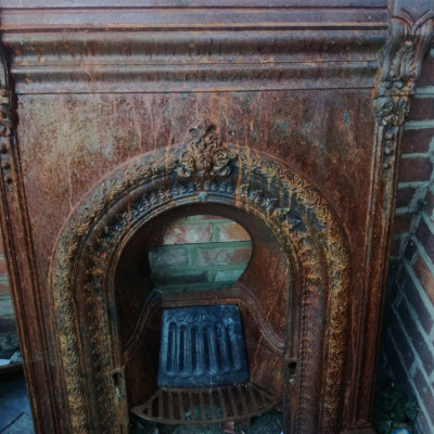 2 Victorian Fireplaces