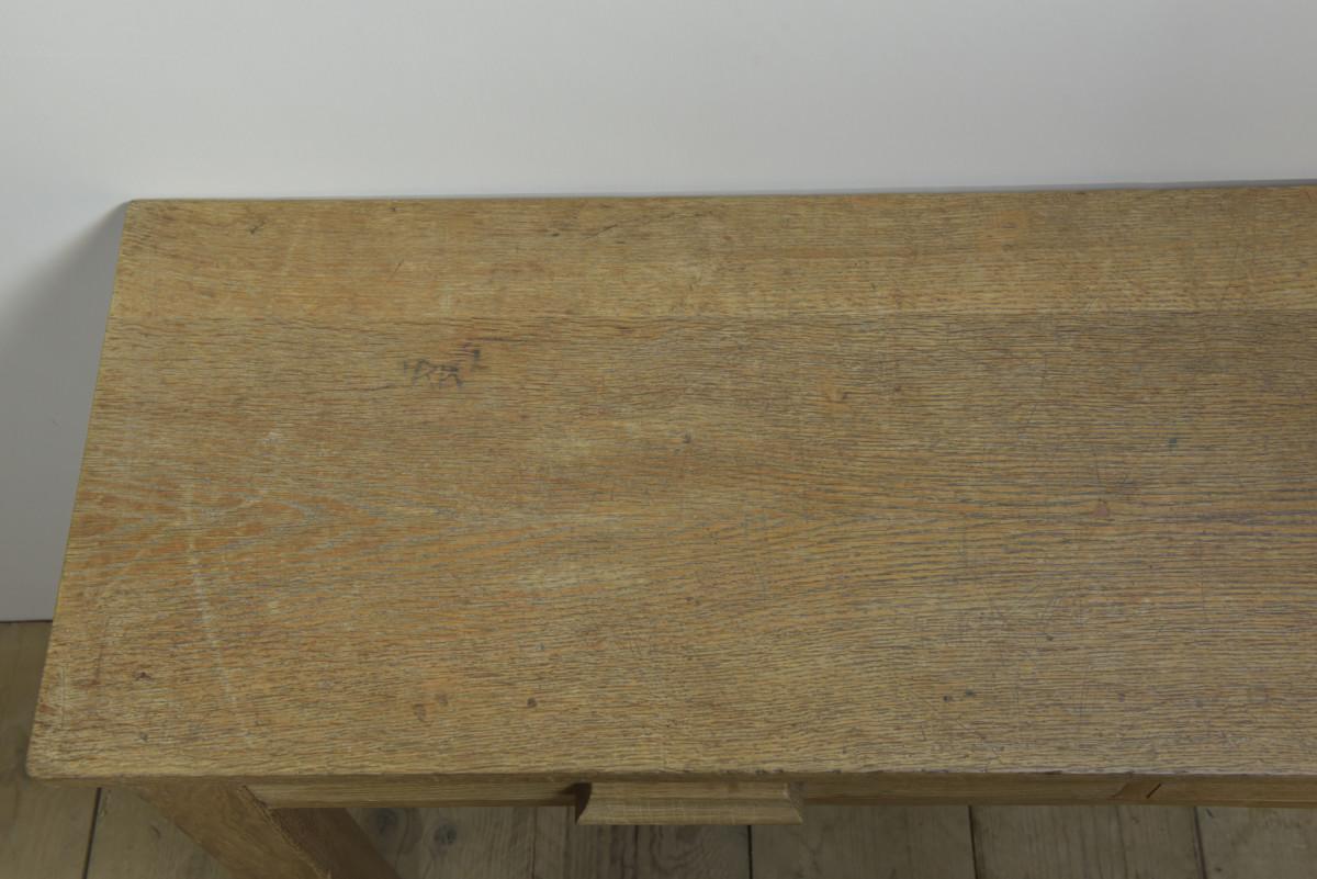 1940s Oak Console Table