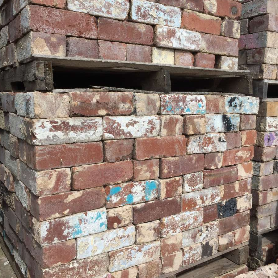Bricks For Sale: For Sale Reclaimed Bricks With Paint Great Character