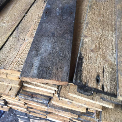 Reclaimed Floorboards from Old Whisky Distillery