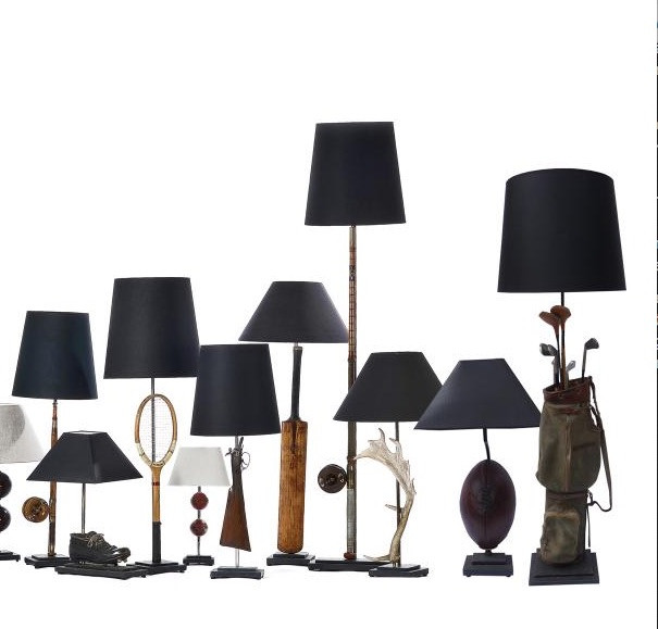 Selection of Recrafted Lamps