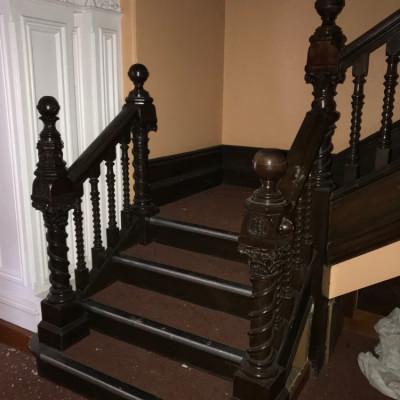 Staircase circa 1890