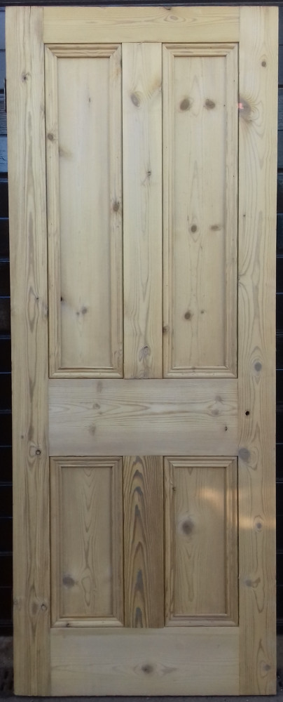 Victorian 4 panel pine door