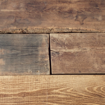 antiques oak floor boards