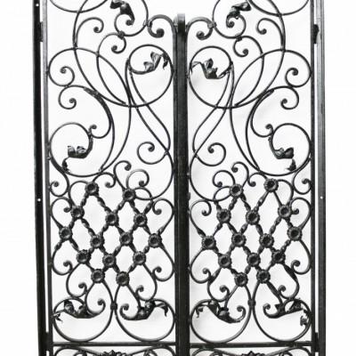 Pair Of Reclaimed Iron Garden Gates