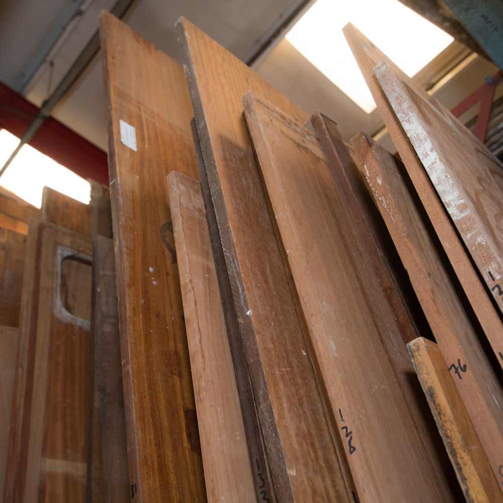 Huge Selection of Reclaimed Teak and Iroko Wooden Worktops