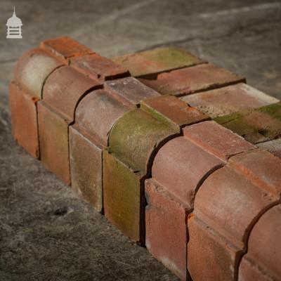 Batch of 147 Stepped Bullnose Red Special Bricks