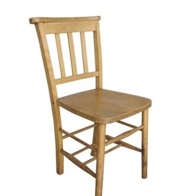 Reclaimed Elm & Beech Church Chapel Chairs Without Bible Backs