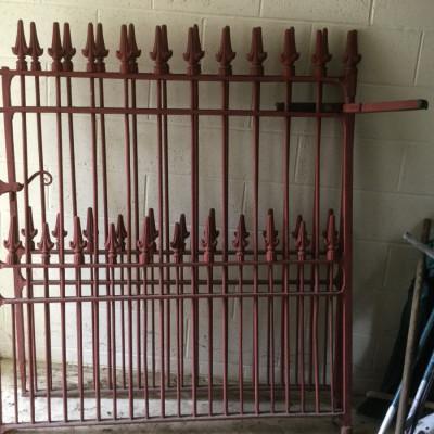 Victorian Cast Iron Gates