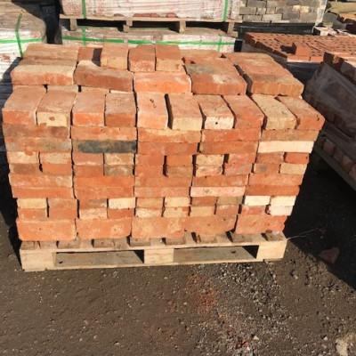 Two inch handmade reclaimed bricks