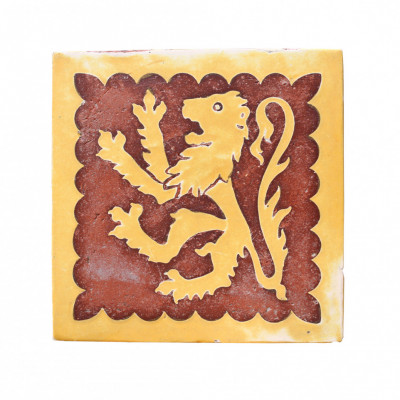 18th Century English Encaustic Tile