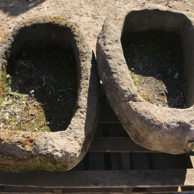 Victorian Natural Stone Troughs