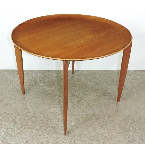 Fritz Hansen, Denmark, teak, tray table. D.1967 Danish mid century H Engholm, Svend Aage Willumsen vintage