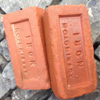Reclaimed cobbles, granite setts and red bricks